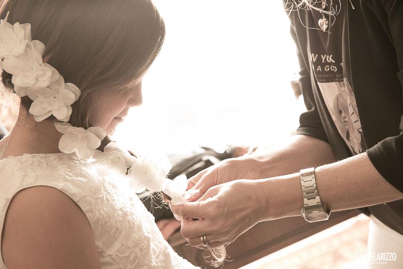 vestizione damigella matrimonio civile villa vergine