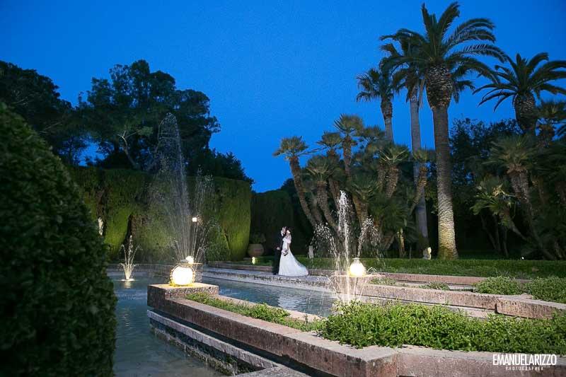 passeggiata sposi giardino villa vergine cutrofiano lecce