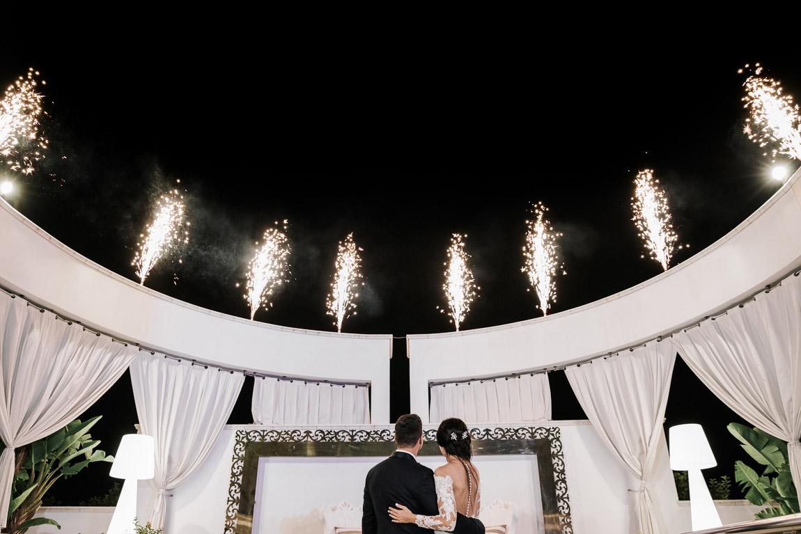 taglio torta matrimonio villa dei fiori gallipoli