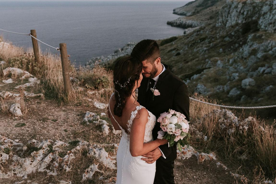scogliera torre minervino matrimonio salento