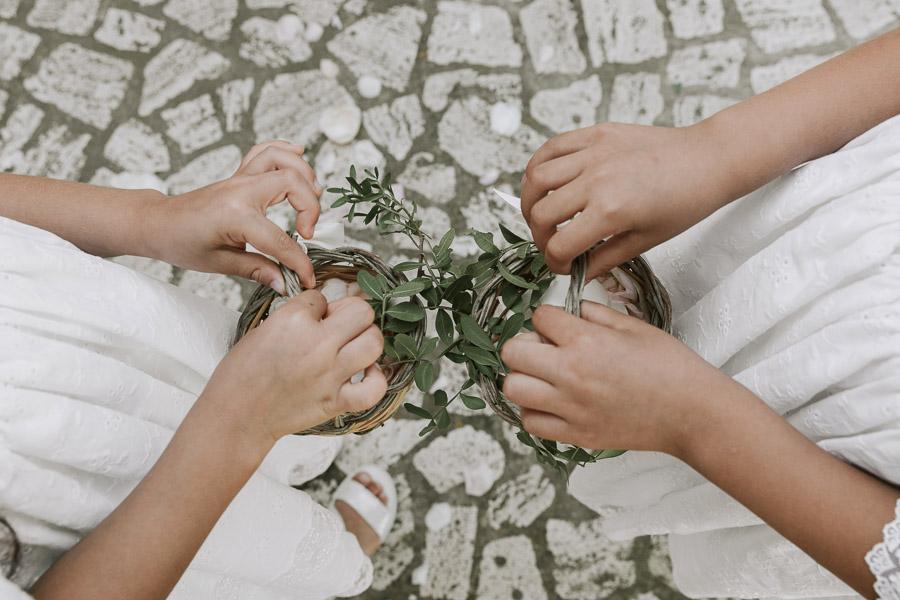 cestino petali damigelle matrimonio lecce
