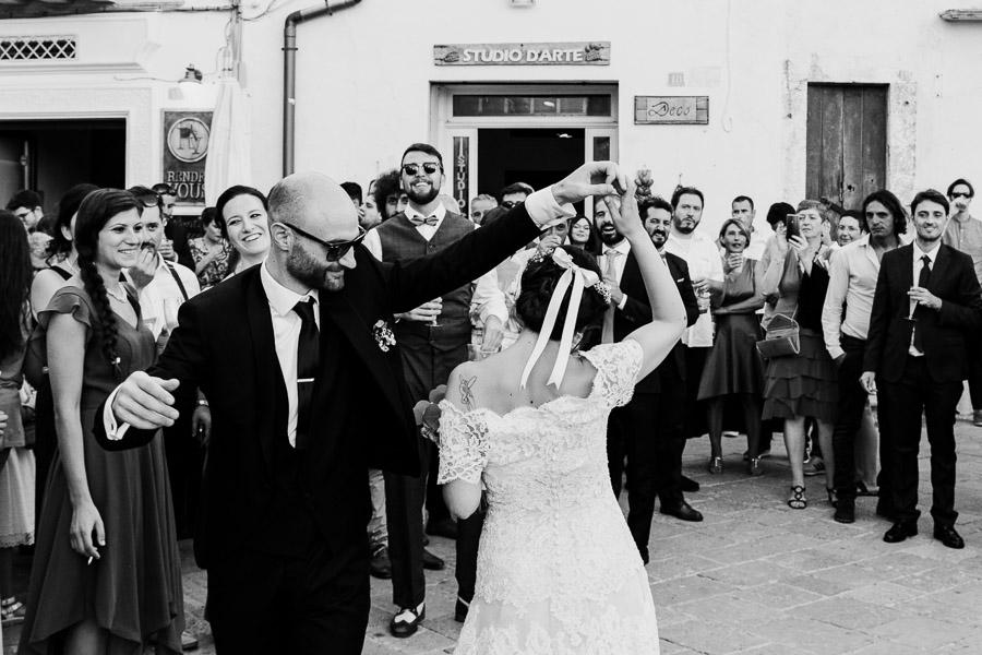 ballo sposi in piazza nardò lecce