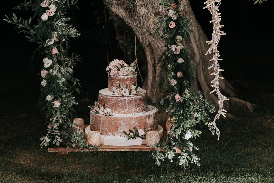 torta sull'altalena matrimonio tenuta monacelli lecce